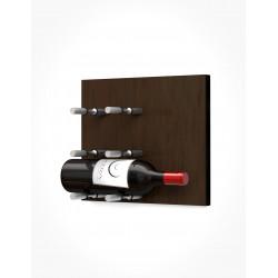 Ultra Wine Racks UFP, Fusion Wine Wall Faceplates, HZ Alum, 1-3 BTL (Storage Cap 3-9)