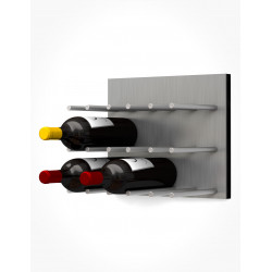 Ultra Wine Racks UFP, Fusion Wine Wall Faceplates, ST Alum Peg (Storage Cap 9)
