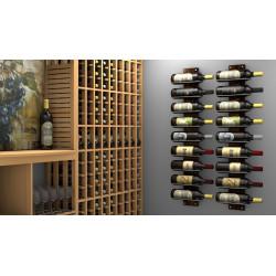 Ultra Wine Racks U31, Max Reveal Horizontal Magnum Single Wine Racks