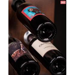 Ultra Wine Racks U502, Wine Port- Brushed Aluminum