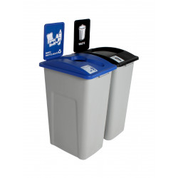 Busch Systems 1013, Waste Watcher XL Grey, Blue, Black