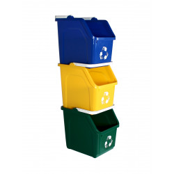 Busch Systems 10137 Multi Recycler 3 Pack with recycling logo