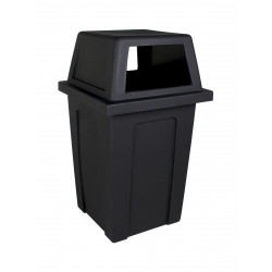 Busch Systems 101707 Sentry - Single - Unit - Full - Black
