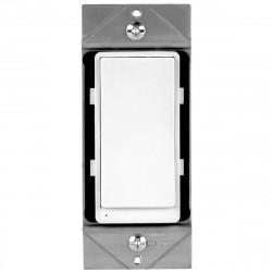Topgreener ZW3K-W, In-Wall 3-Way/4-Way Add-On Z-Wave Dimmer Switch - White
