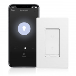 Topgreener TGWF500D In-Wall Smart Wi-Fi Dimmer Switch
