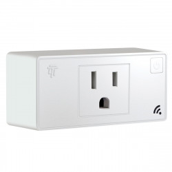 Top Greener TGWF115P, Smart Wi-Fi Plug-In (10A) with Energy Monitoring- White