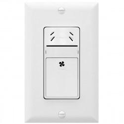 Topgreener TDHS5 In-Wall Humidity Sensor Switch, Fan/Exhaust Control