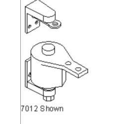 Bommer 7012 Cast Steel Surface Mount, Double Acting, Non-Adjustable Spring Tension