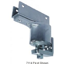 "Bommer 7114 Cast Steel Surface Mount, Box Clamp Door Bracket, Fits 1-1/8"" Thick Door, Double Acting, Adjustable Spring Tension"