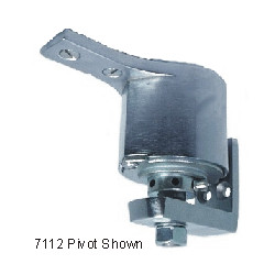 Bommer 7112 Cast Steel Surface Mount, Double Acting, Adjustable Spring Tension