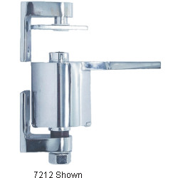 Bommer 7212 Cast Brass Surface Mount, Double Acting, Non-Adjustable Spring Tension