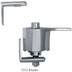 Bommer 7312 Cast Brass Surface Mount, Double Acting, Adjustable Spring Tension