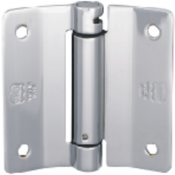 Bommer LB1002-400 Brass Single Acting, 2 Hinges, 80 LBS. Max. Door Weight, Anti Friction Lube Bearing
