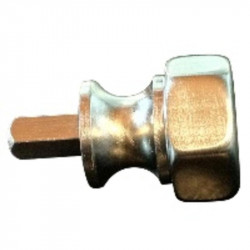 Bommer 15017 EMERGENCY KEY, Brass Casting, Fits the Emergency Key Hole on the 15016 and 15016F