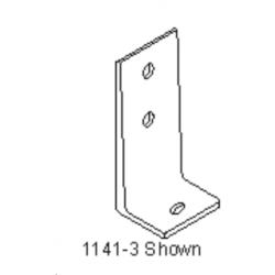 "Bommer 1141-3 Mounting ""L"" Bracket, Brass Casting"