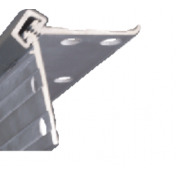 """Bommer FM83-HD Standard, Full Mortise Hinge, 83"""" Long, Heavy Duty, Continuous Geared Aluminum Hinges"""