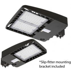 Energetic Lighting E3SB LED Area Light, Shoe Box w/Photocell, 3 Pin, Bronze