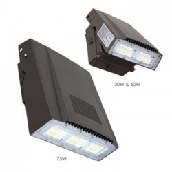 Energetic Lighting E1WPE LED Wall Pack Adjustable w/Photocell, Bronze