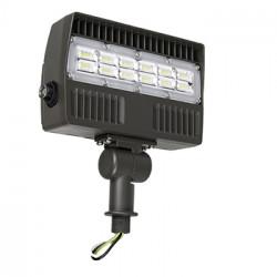 Energetic Lighting E1FLK30 LED Flood Light w/Photocell, Bronze, 30 Watt