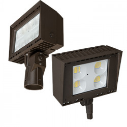 Energetic Lighting E1AFL50D LED Flood Light Architectural, Brown, 50 Watt