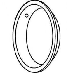 """Trimco 242 Flush Pull, 2-1/2"""" diameter"""