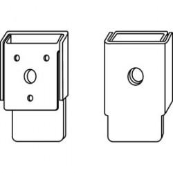 Trimco 625CV Door Knocker, Card Holder w/ Viewer