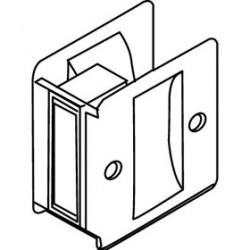 Trimco 1064 Series Pocket Door Pull, Passage