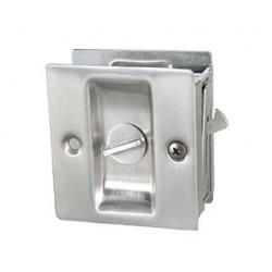 """Trimco 1065 Series Pocket Door Pull For 1-3/8"""" Door, Privacy"""
