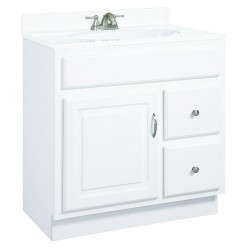 Design House White Concord Wood Vanity Cabinet Only