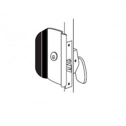 Trimco 1090 Series Anti-Vandal Pull, Security/Safety Lockset, PDQ LFIC Cylindrical Lock With/without Hold Back. No Cores Or Keys Supplied