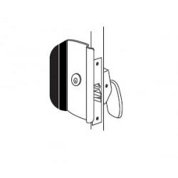 Trimco 1090 Series Anti-Vandal Pull, Security/Safety Lockset, Large Format IC Cylinder