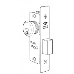 Adams Rite 4070 Series Projection Style Short Throw Deadbolt with One-Half Key Turn