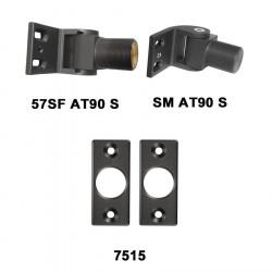 D&D 7705722 SureClose Hinge/Closer Kit - 57SF AT90, Flush Mount Brackets