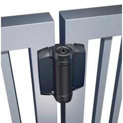D&D TCHD1AL1S3BT TruClose Heavy Duty for Metal Gates, 1 Legs, Color-Black