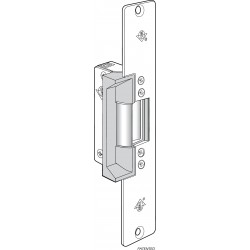 Adams Rite 7110 & 7111 Electric Strikes for Hollow Metal, Wood & Aluminum Door Jambs, Satin Chrome Finish