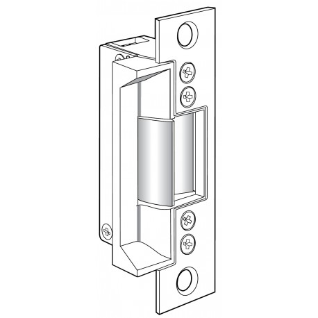Adams Rite 7240 Fire Rated Electric Strike For Hollow Metal Door Jambs,  Stainless Steel