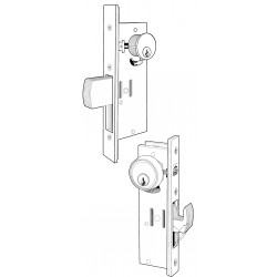 Adams Rite MS1850S Series MS&reg Deadlock for a Single Leaf Narrow Stile Door