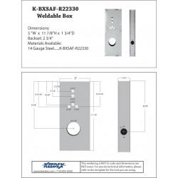 Keedex K-BXSAF-R223 Gate Box Saflok