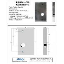 Keedex K-BXSAL-C Weldable Box-Salto Systems Systems Cylindrical