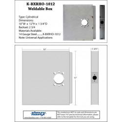 "Keedex K-BXRHO-1012 Oversized 10""x12"" Lock Box"