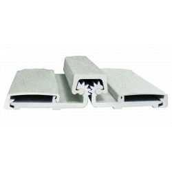 Cal-Royal CRHD78 Geared Aluminum Continuous Full Surface Hinges Series