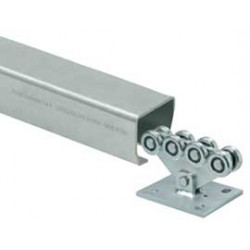 DuraGate CGS Small Galvanized Steel Carriage & Track, Opening Range 13 ft