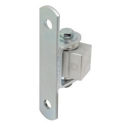 "D&D CI3780 Shut It Steel/Aluminum Half Bolt-on For Posts Under 4"", Steel Finish/Aluminium Body"