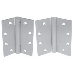 "PBB 4C51630 Heavy Weight 3-Knuckle Full Mortise Anti Friction Concealed Bearing Satin Satinless Hinge 4.5""x4.5"""