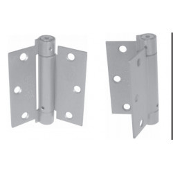 "PBB RS814040 Ligth Weight 1/4"" 3-Knuckle Full Mortise U.L Listed Grade 1 Residential Spring Hinge 4.0""x4.0"""