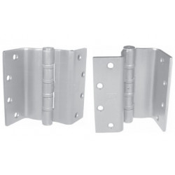 "PBB SC4B5145630 Heavy Weight 5-Knuckle Swing Clear Full Mortise Ball Bearing 4.5"" Satin Stainless Hinge"