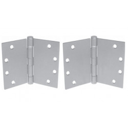 PBB WTBB81 5-Knuckle Standard Weight wide Throw Full Mortise Template Ball Bearing Steel Hinge