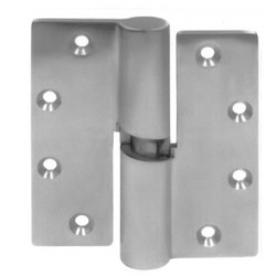"PBB LE51 2-Knuckle Heavy Weight Full Mortise EHW Gravity Lift Stainless Hinge 5.0""x4.5"" Finish Satin Stainless"