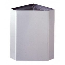 Bobrick B-268 Surface-Mounted Corner Waste Receptacle