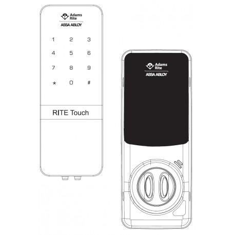 Adams Rite Rt1050d Touch Digital Glass Door Lock For Single Or
